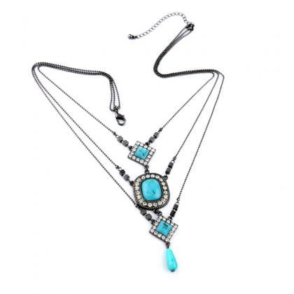 Fashion Retro Women Accessory Three..