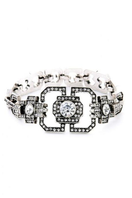 Modern Women Fashion Trendy Fashion Jewelry New Alloy Crystal Charming Bracelet SZ028